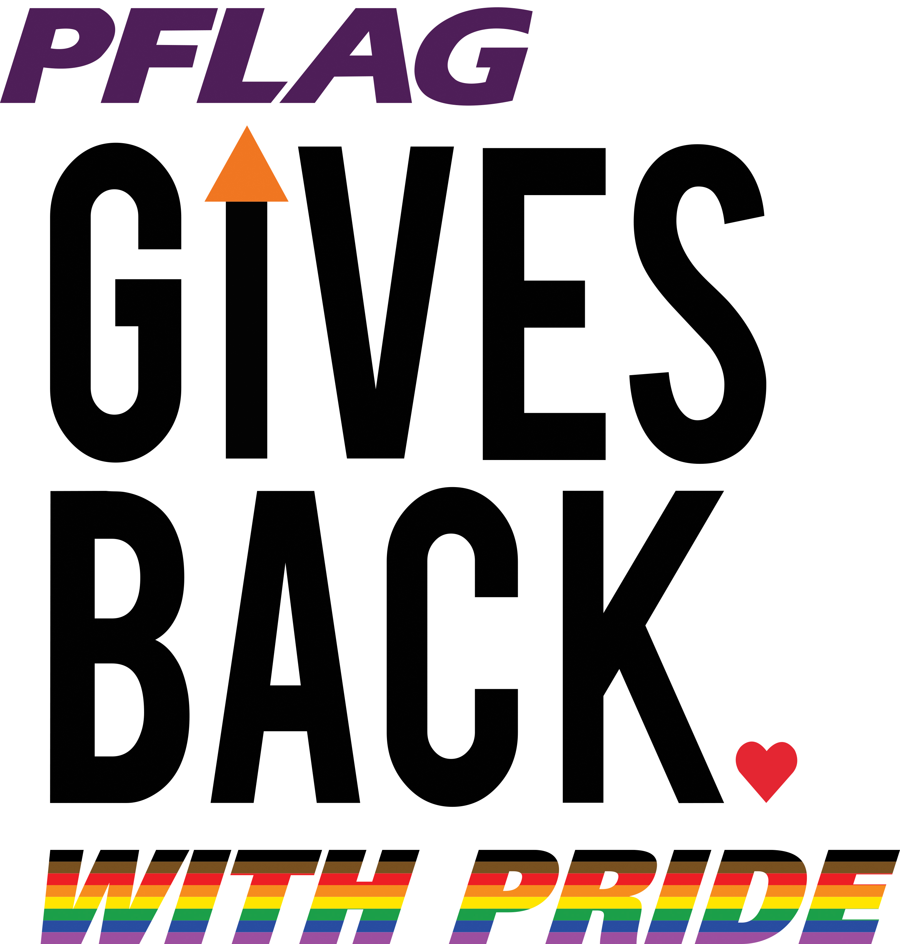PFLAG Gives Back with Pride