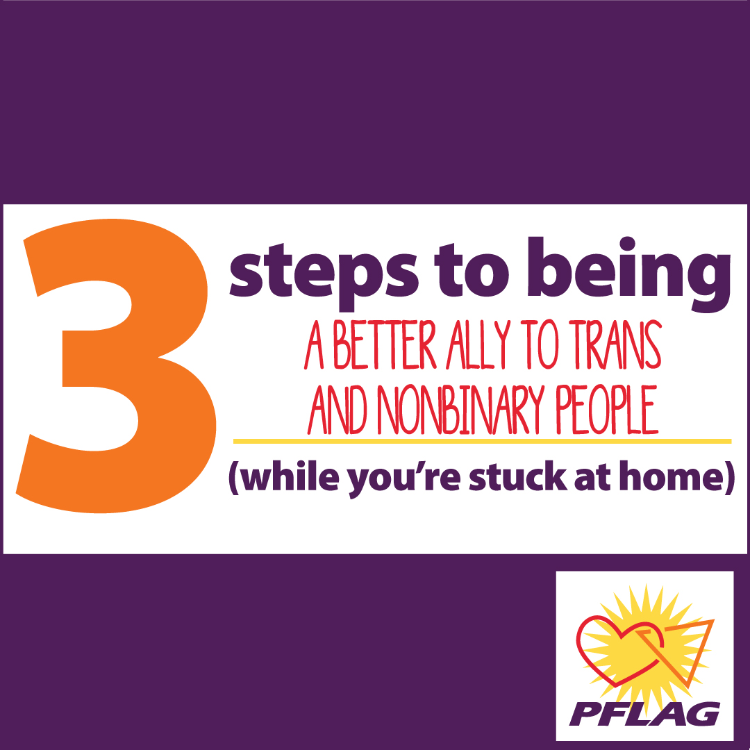 3 steps to be a better ally to trans